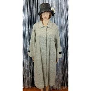 Vintage Orvis wool blend coat